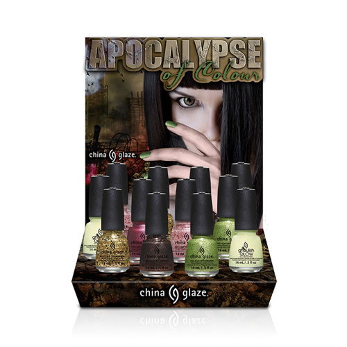 China Glaze 2014 Apocalypse Halloween Collection