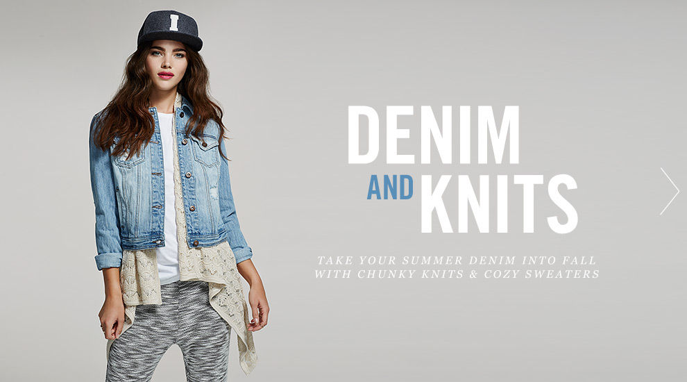 Forever 21 Denim And Knits Fall 2014 Lookbook