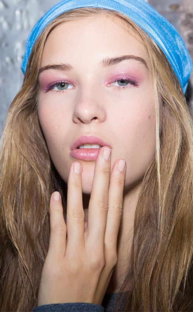 Makeup From The Runway Mac For Derek Lam Spring 2015