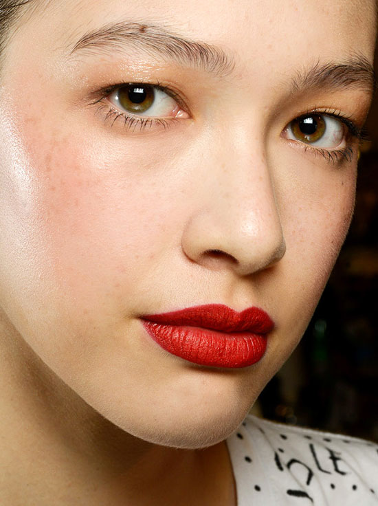 Makeup From The Runway Mac For Zac Posen Spring 2015 2