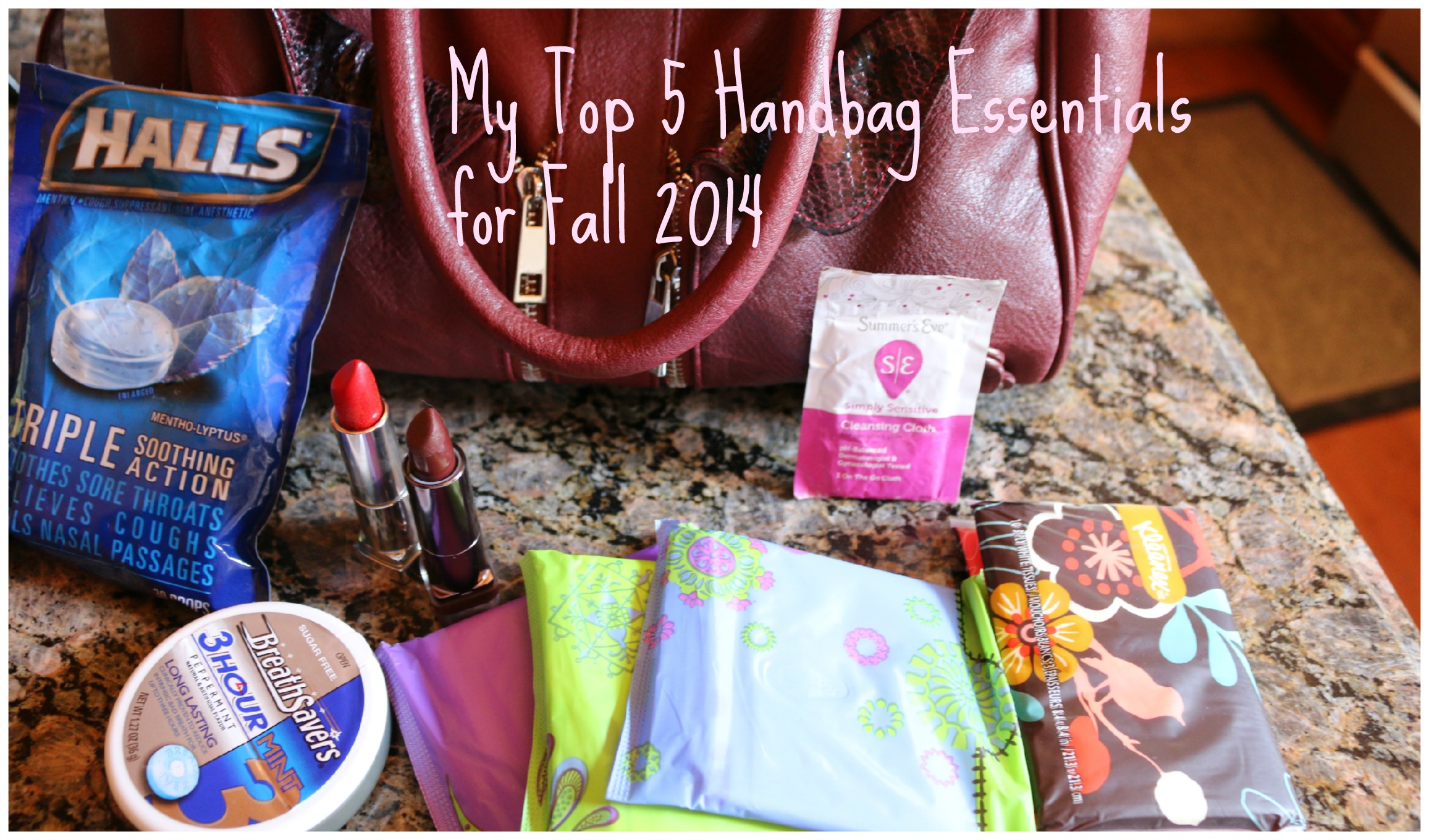 My Top 5 Handbag Essentials for Fall 2014