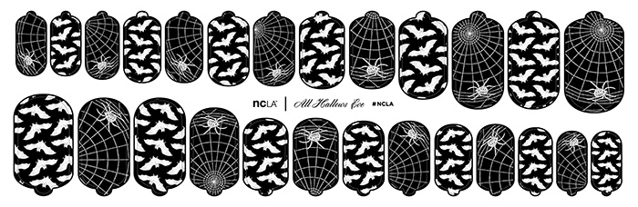 New Halloween Nail Wraps From NCLA 4