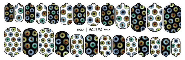 New Halloween Nail Wraps From NCLA 5