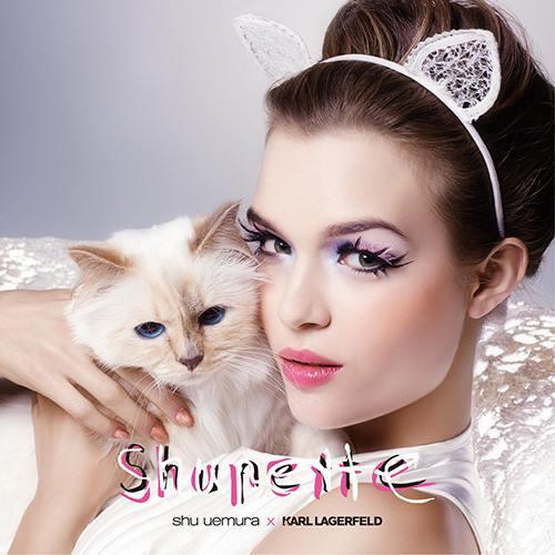 Shu Uemura X Karl Lagerfeld's Holiday 2014 Shupette Choupette Collection