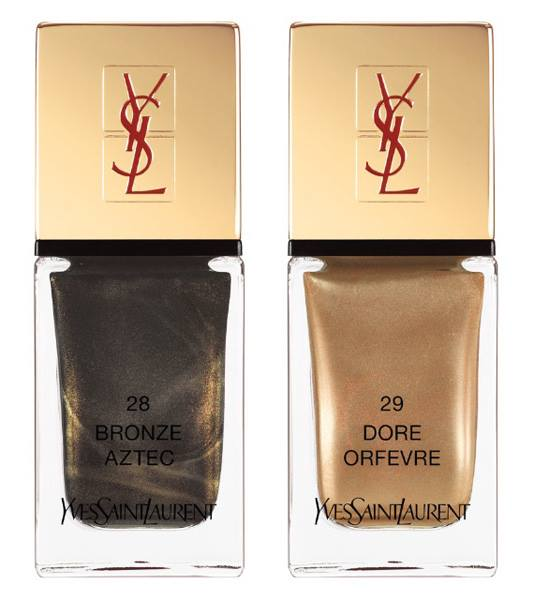 YSL Wildly Gold Holiday 2014 Makeup Collection 11