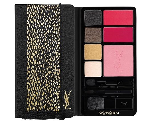 YSL Wildly Gold Holiday 2014 Makeup Collection 5