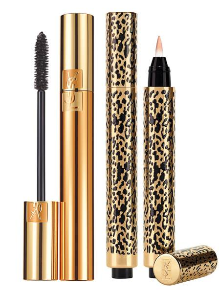 YSL Wildly Gold Holiday 2014 Makeup Collection 9