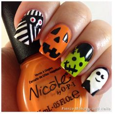 2014 Halloween Nail Designs & Nail Art Trends 10