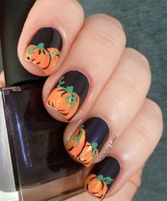 2014 Halloween Nail Designs & Nail Art Trends 11