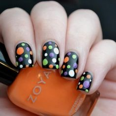 2014 Halloween Nail Designs & Nail Art Trends 2