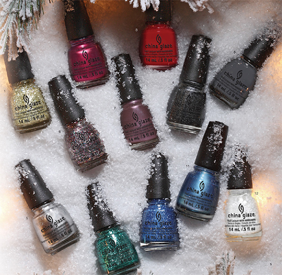 China Glaze Twinkle Collection for Holiday 2014