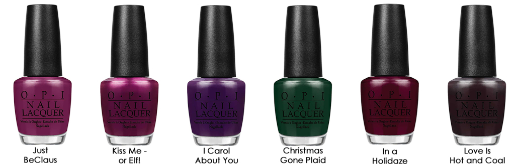 Gwen Stefani by OPI Holiday 2014 Collection - Full Collection Details 2