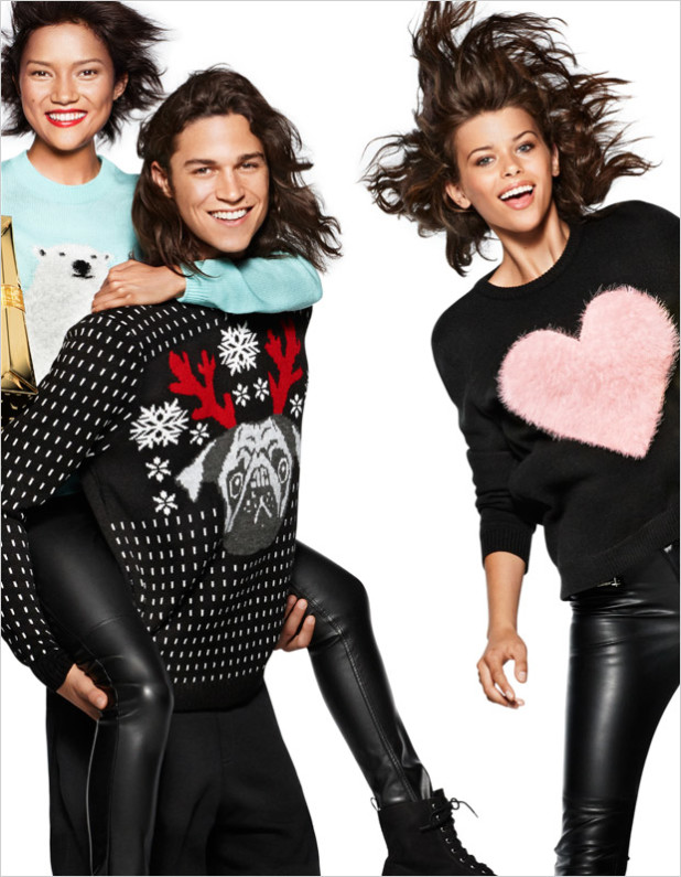H&M Holiday 2014 Collection Campaign 14