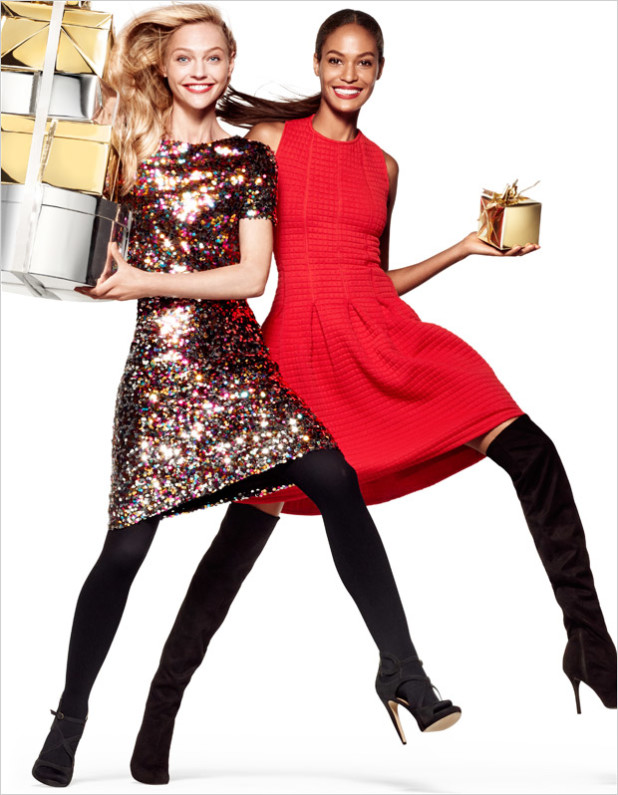 H&M Holiday 2014 Collection Campaign