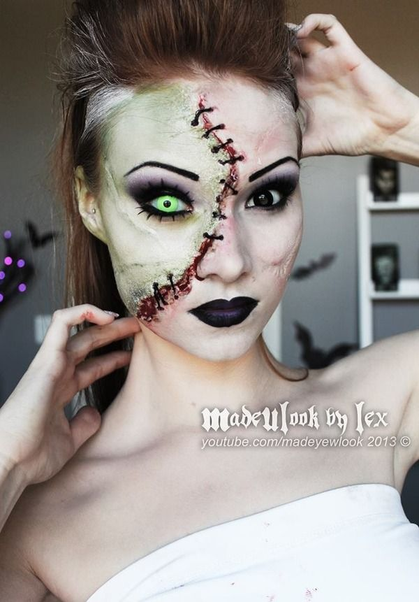 Halloween Makeup Ideas for 2014 - Make Up Voor Halloween