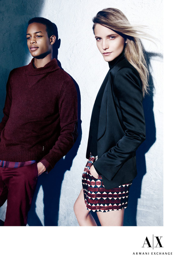 Armani Exchange Holiday 2014 AD Campaign 8