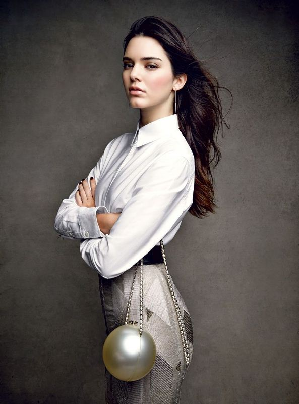 Kendall Jenner for Vogue December 2014 11