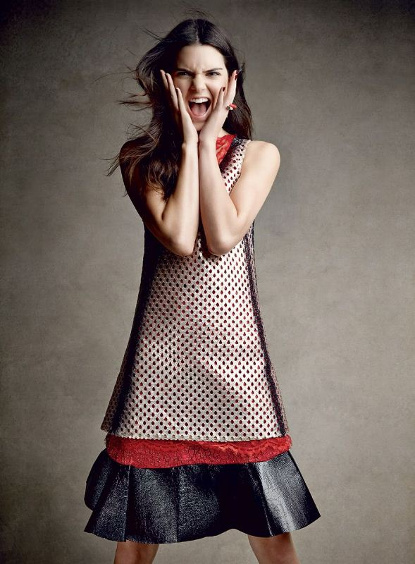 Kendall Jenner for Vogue December 2014 8
