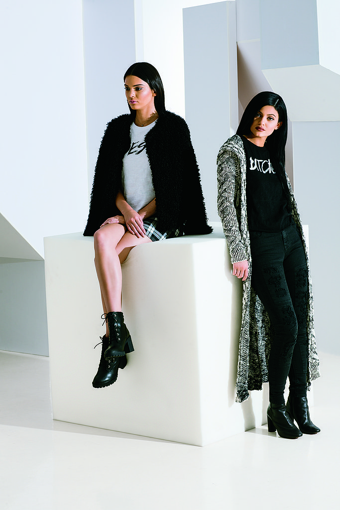Kendall & Kylie Jenner PacSun Holiday 2014 Collection 2