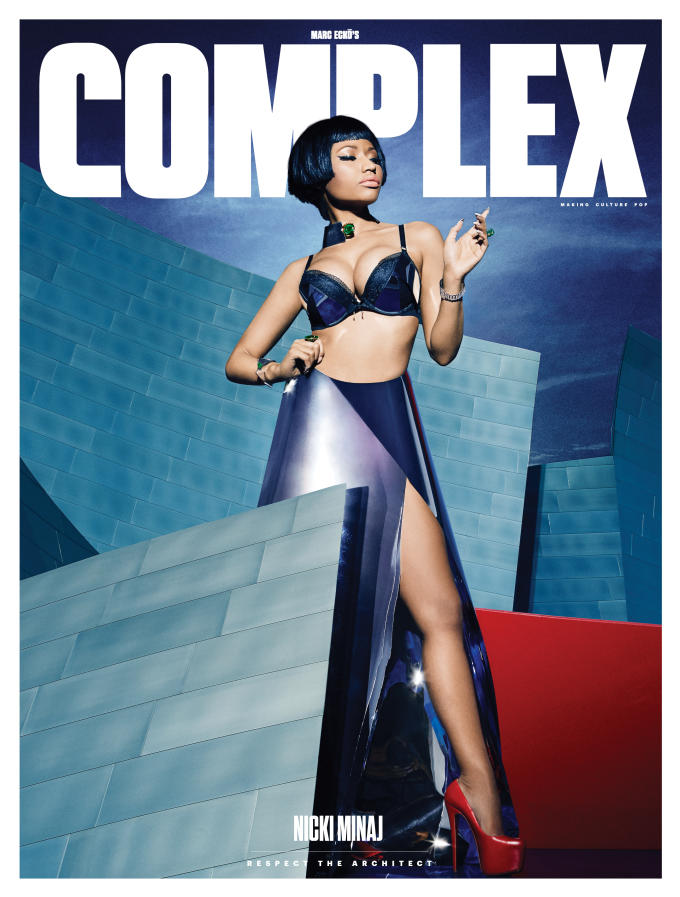 Nicki Minaj For Complex Magazine December - January 2014-2015 Issue