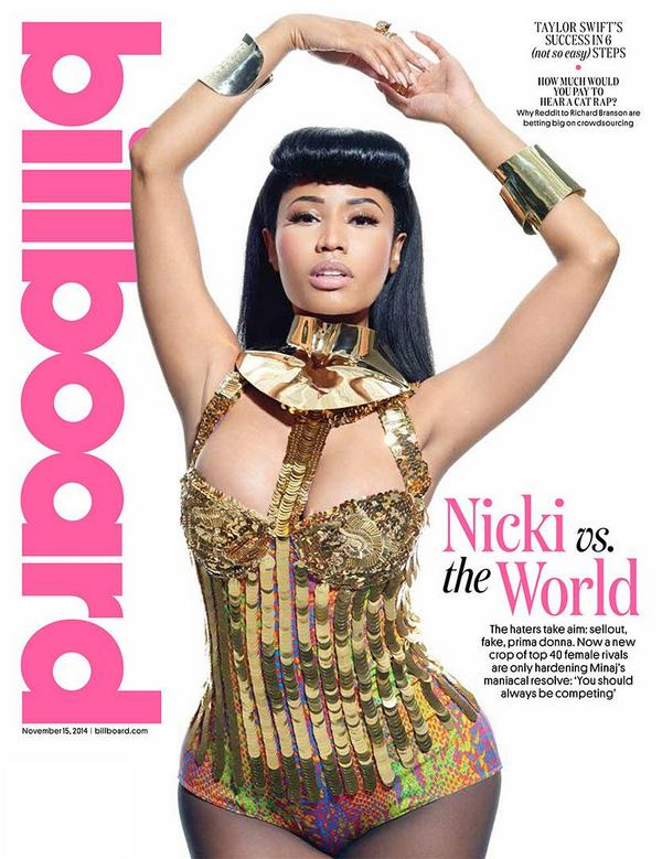 Nicki Minaj for Billboard Magazine November 2014 Issue