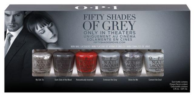 OPI '50 Shades of Grey' Nail Polish Collection 2