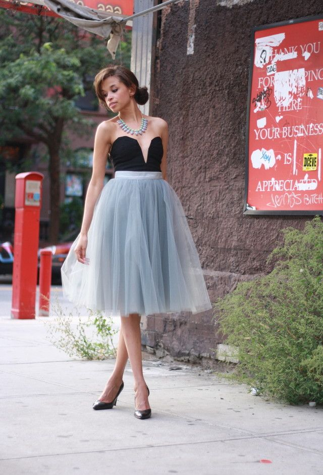 Style Inspiration - Tulle Skirts 13