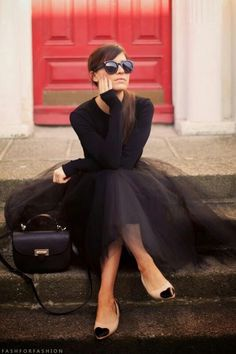 Style Inspiration - Tulle Skirts 15