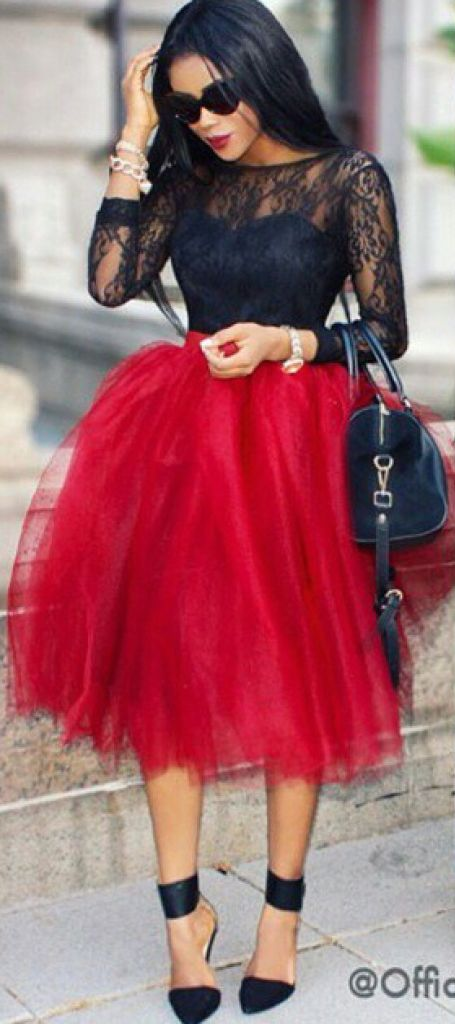 Style Inspiration - Tulle Skirts 18