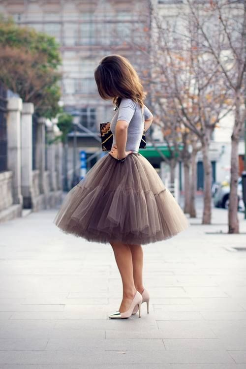 Style Inspiration - Tulle Skirts 2