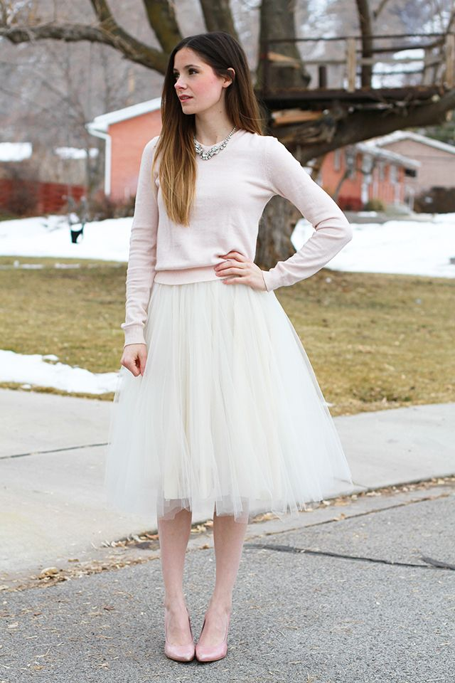 Style Inspiration - Tulle Skirts 4