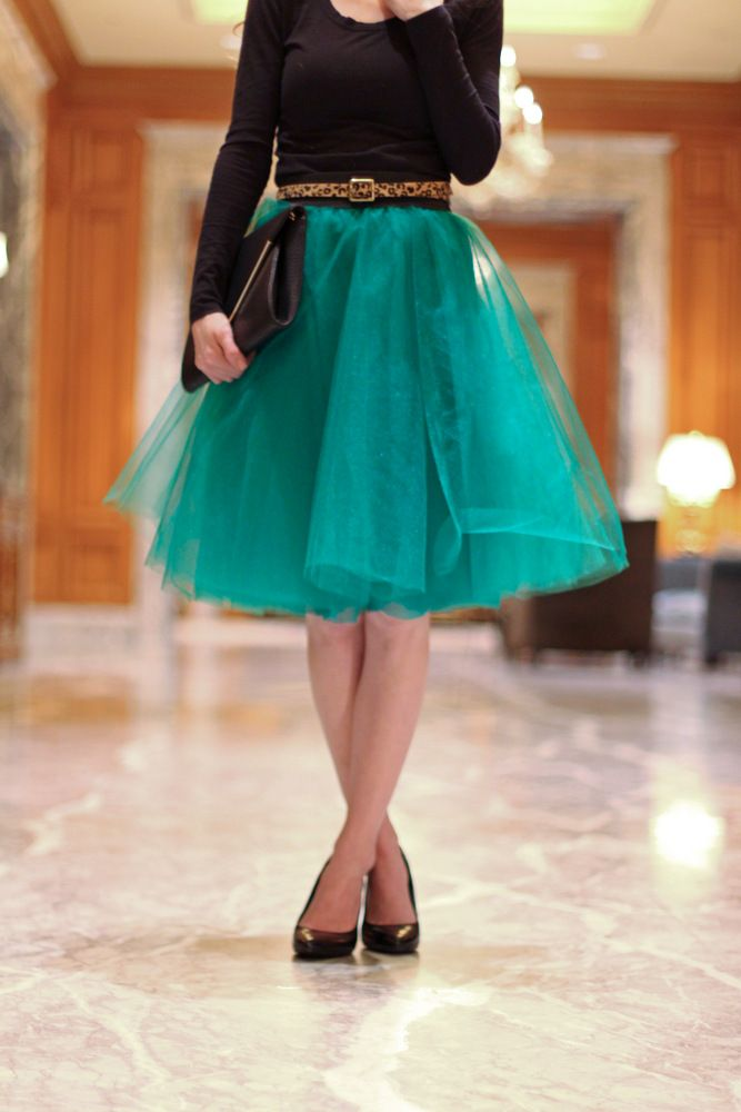 Style Inspiration - Tulle Skirts 5