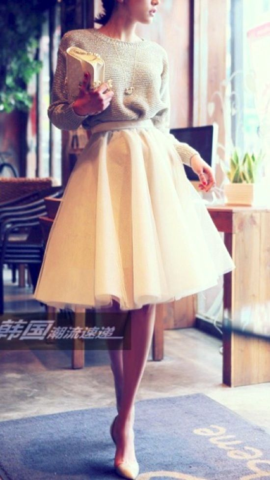 Style Inspiration - Tulle Skirts 7