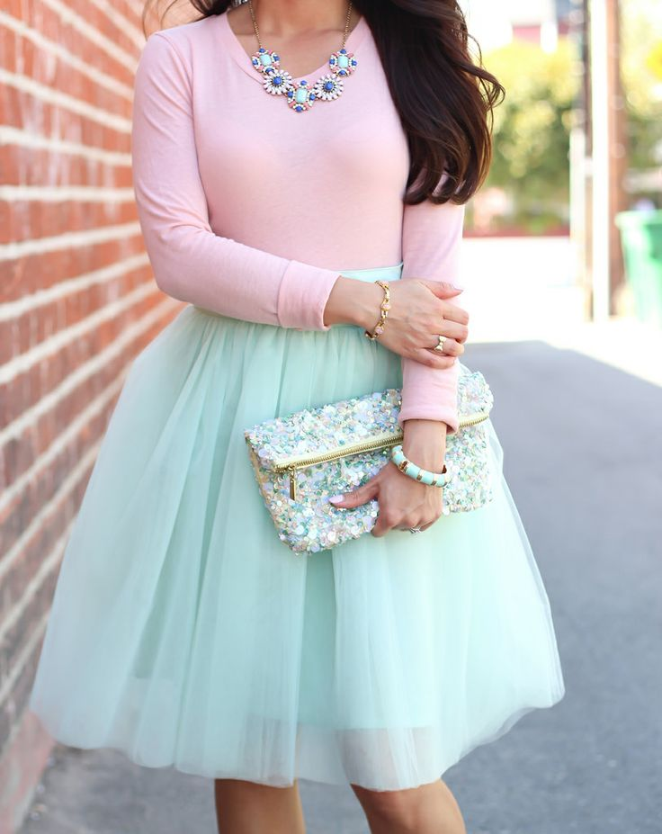 Style Inspiration - Tulle Skirts 8