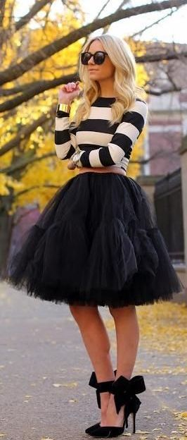 Style Inspiration - Tulle Skirts 9