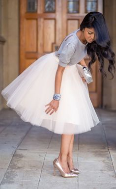 Style Inspiration - Tulle Skirts