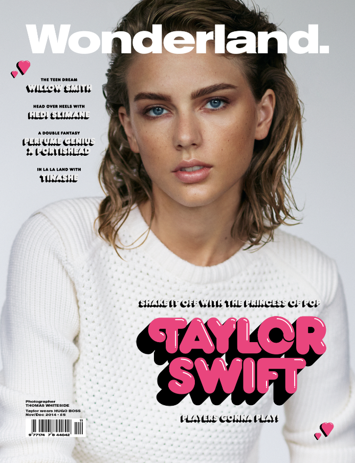 Taylor Swift For WONDERLAND Nov Dec Issue