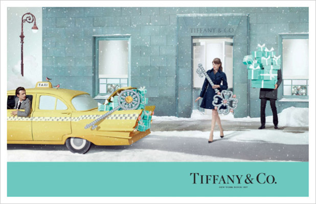 Tiffany & Co Christmas 2014 Ad Campaign 2