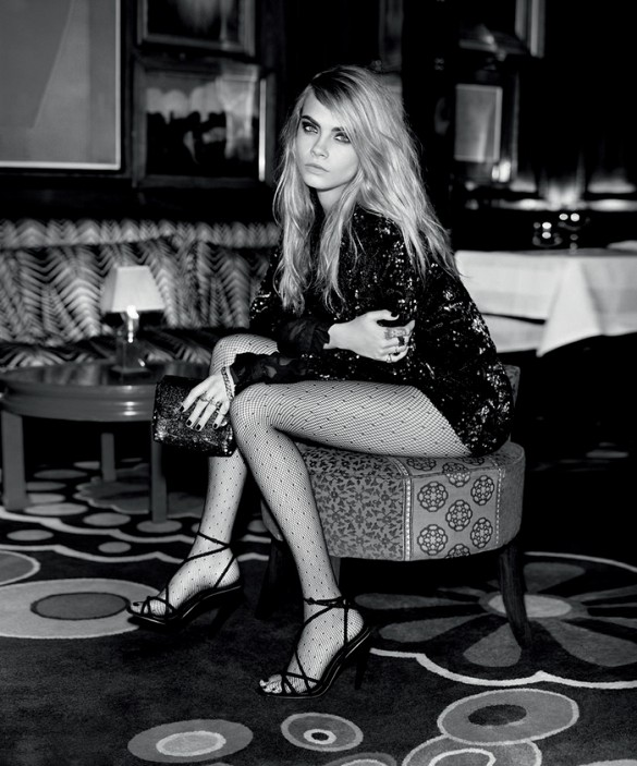 Topshop Holiday 2014 Ad Campaign Featuring Cara Delevingne 2
