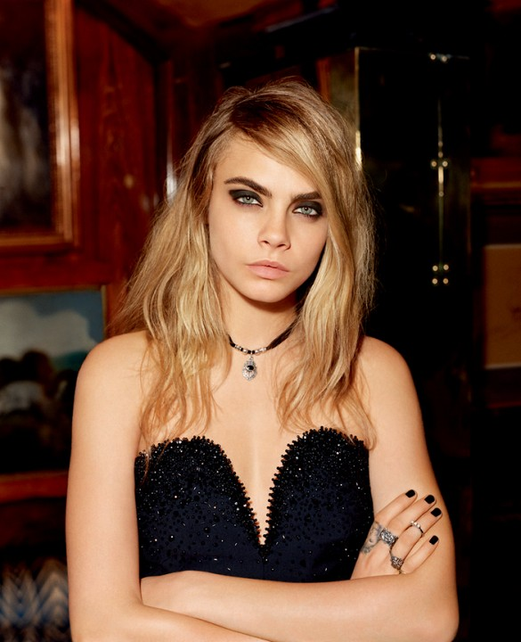 Topshop Holiday 2014 Ad Campaign Featuring Cara Delevingne 6