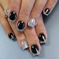 New Years Eve Nail Art Design & Ideas 12