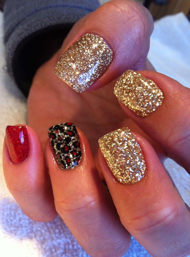 New Years Eve Nail Art Design & Ideas