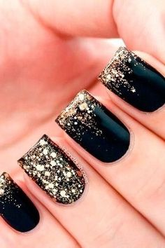New Years Eve Nail Art Design & Ideas 2