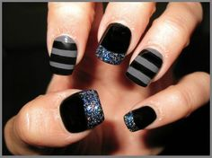 New Years Eve Nail Art Design & Ideas 7