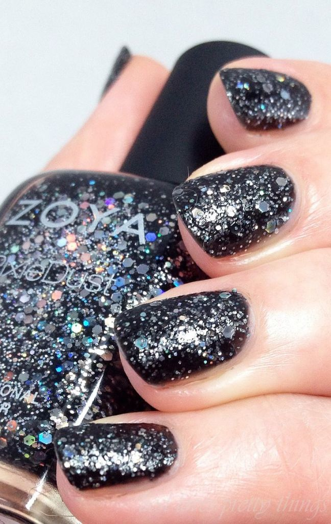 New Years Eve Nail Art Design & Ideas 9