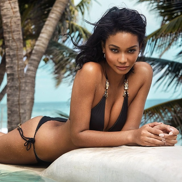 Chanel Iman Looks Good In Swimwear As She Poses On The GQ South Africa Cover 2