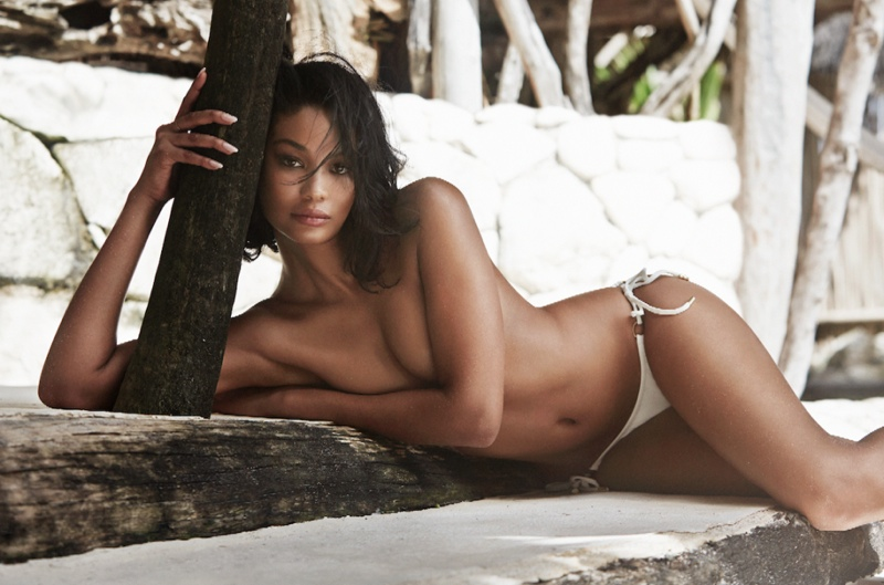 Chanel Iman Looks Good In Swimwear As She Poses On The GQ South Africa Cover 4