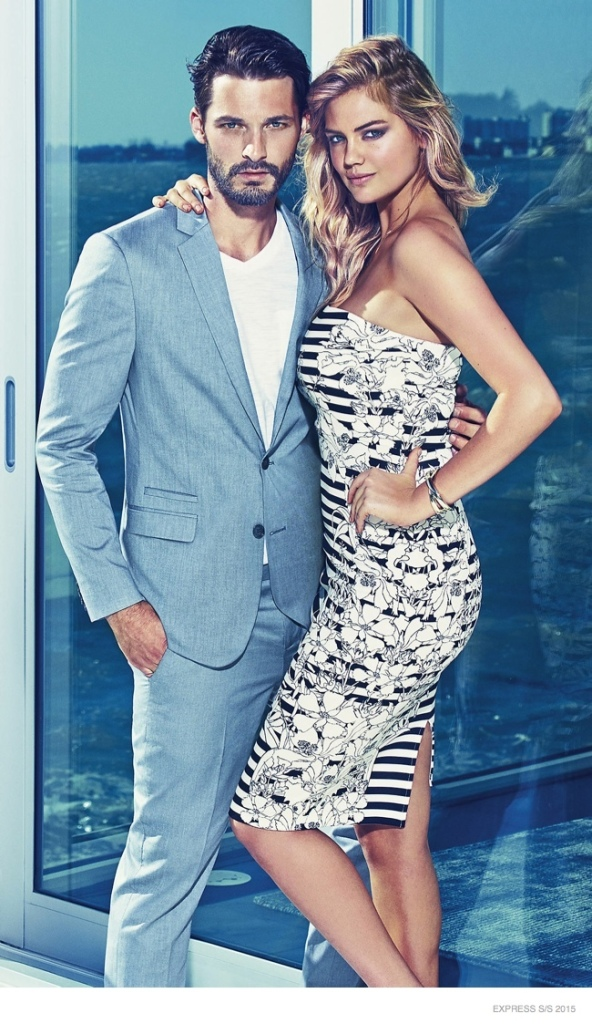 Express Spring 2015 Clothing AD Campaign 2