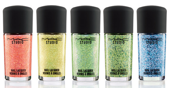 New MAC Studio Nail Lacquers (January 2015)