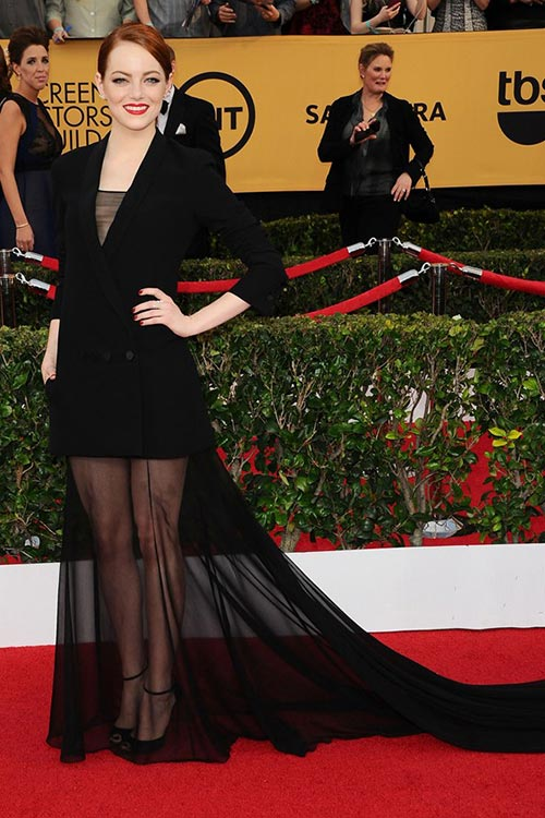 On The Red Carpet - Best Dressed at the 2015 SAG Awards 14